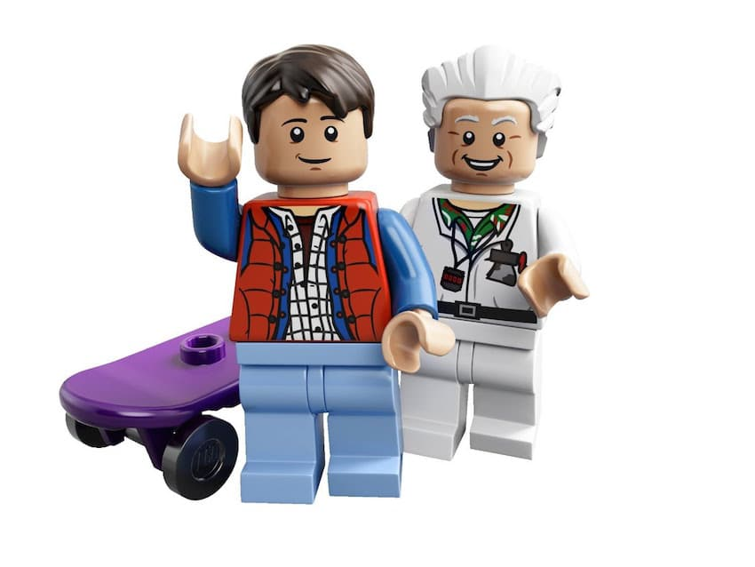 Back to the Future LEGO set.