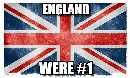 Content marketing meme, England number one.