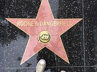 Picture of Rodney Dangerfield star in Hollywood.