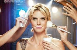 Got Milk marketing with Heidi Klum