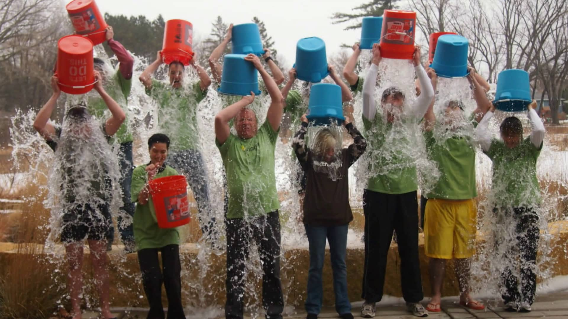 Ice Bucket challenge marketing success