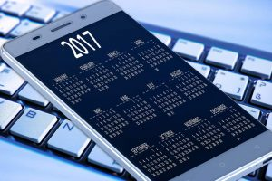 2017 internet marketing calendar