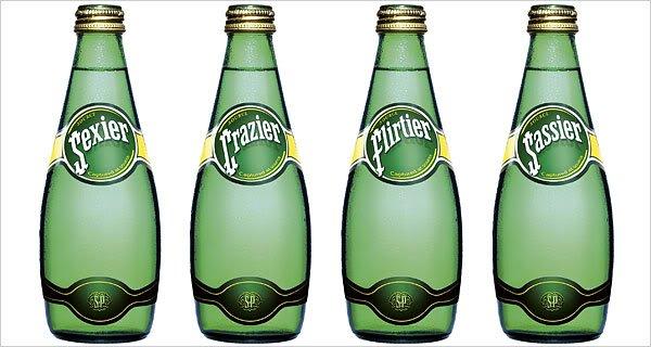 Perrier bottled water marketing